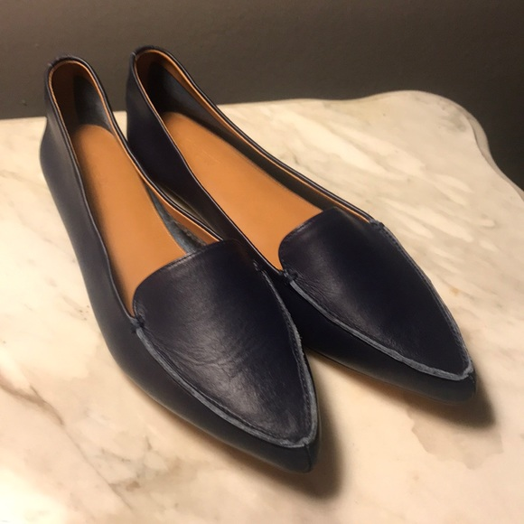 936a9eddb1f J. Crew Shoes - J crew Edie leather loafer 9.5